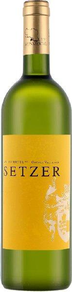 SetzerGrüner Veltliner Ausstich Weinviertel DAC trocken Jg. 2016Österreich Weinviertel Setzer
