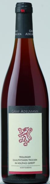 Graf AdelmannBrüssele Trollinger Qualitätswein trocken Jg. 2010Deutschland Württemberg Graf Adelmann