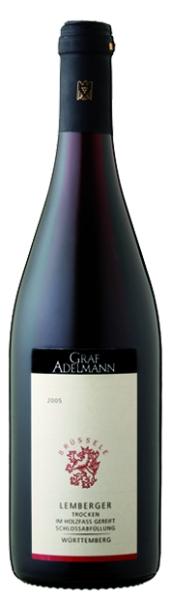 Graf AdelmannBrüssele Lemberger Qualitätswein trocken Jg. 2009Deutschland Württemberg Graf Adelmann