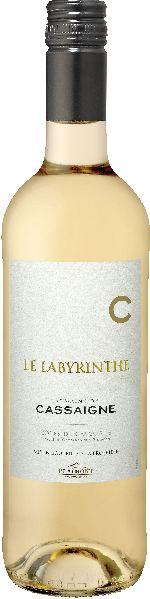 Domaine de CassaigneCotes de Gascogne Blanc IGP - Le Labyrinthe Cuvee aus Colombard, Gros MansengFrankreich Gascogne Domaine de Cassaigne