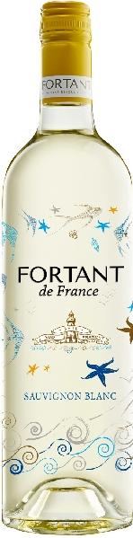 Fortant de FranceSauvignon Blanc serigrafiert Pays dOc IGPFrankreich Südfrankreich Languedoc Fortant de France