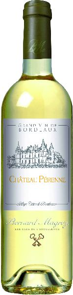 Chateau PerenneBlaye Cotes De Bordeaux Blanc AOC Cuvee aus Sauvignon Blanc, Sauvignon Gris, Semillon 8 Monate BarriqueFrankreich Bordeaux Chateau Perenne