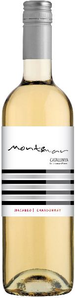 Montemar Macabeo - Chardonnay Catalunya DO Macabeo (80%), Chardonnay (20%)Spanien Katalonien Montemar