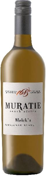 Muratie EstateMelcks Sauvignon Blanc Jg. 2018Südafrika Kapweine Stellenbosch Muratie Estate