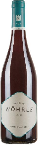 W�hrle -  LahrerSp�tburgunder Rotwein trockenDeutschland Baden W�hrle -  Lahrer