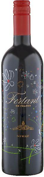 Fortant de FranceSyrah serigraphiert Pays d Oc IGPFrankreich Südfrankreich Languedoc Fortant de France
