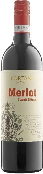 Fortant de FranceMerlot Vin de Pays d Oc IGP Terrior LittoralFrankreich S�dfrankreich Languedoc Fortant de France