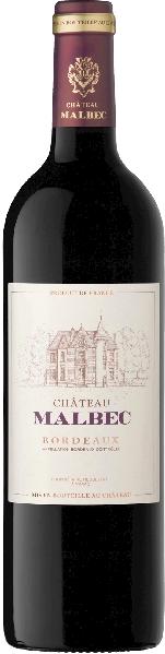 Chateau MalbecBordeaux Rouge AOC Cuvee aus 75% Merlot, 15% Cabernet Sauvignon, 5% Cabernet Franc, 5% Malbec im Holzfass gereiftFrankreich Bordeaux Chateau Malbec