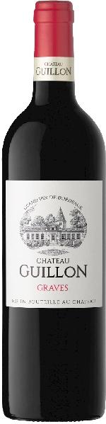 Chateau GuillonGraves Rouge AOC 60% Merlot, 40% Cabernet Sauvignon im Holzfass gereiftFrankreich Bordeaux Chateau Guillon
