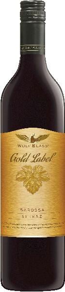 Wolf BlassGold Label Shiraz  Barossa ValleyAustralien South Australia Wolf Blass