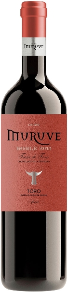Muruve Tinto Roble Toro DO , Semi Crianza 3 Monate BarriqueSpanien Rueda Muruve