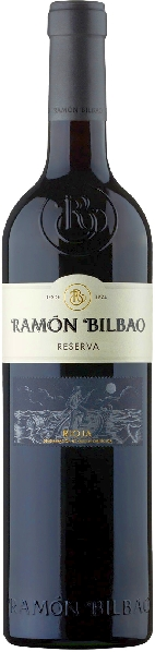 Ramon BilbaoReserva Rioja DOCA Cuvee aus 90% Tempranillo, je 5% Mazuelo und Garnacha 20 Monate im Holzfass gereiftSpanien Rioja Ramon Bilbao