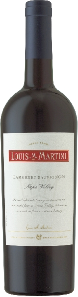 Louis M. MartiniCabernet Sauvignon Napa ValleyU.S.A. Kalifornien Louis M. Martini
