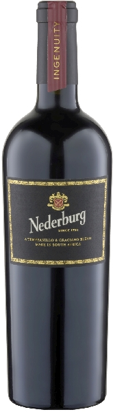 NederburgIgenuity Spanish Red Blend Jg. 2014 Cuvee aus 90% Tempranillo, 10% GracianoSüdafrika Western Cape Nederburg