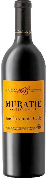 Muratie EstateAnsela van de Caab Das Flaggschiff von Muratie Cuvee aus 55% Cabernet Sauvignon, 35% Merlot, 10% Cabernet FrancS�dafrika Kapweine Stellenbosch Muratie Estate
