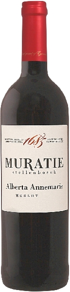 Muratie EstateAlberta Annemarie Merlot Jg. 2016 12 Monate im Barrique gereiftSüdafrika Kapweine Stellenbosch Muratie Estate