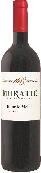 Muratie EstateRonnie Melck Shiraz Jg. 2014Südafrika Kapweine Stellenbosch Muratie Estate