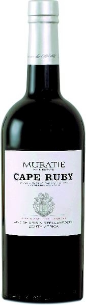 Muratie EstateCape Ruby Rebsorten: Tinta Barocca, tinta Roritz, SouzaoS�dafrika Kapweine Stellenbosch Muratie Estate