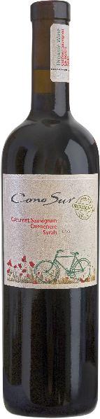 Cono SurOrganic Cabernet Sauvignon, Carmenere, Syrah 10 Monate im holzfass gerreiftChile Ch. Sonstige Cono Sur