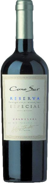 Cono SurReserva Especial Carmenere 88% Carmenère, 6% Cabernet Sauvignon, 3% Malbec 12 Monate im Holzfass gereiftChile Ch. Sonstige Cono Sur