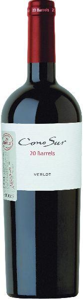 Cono SurMerlot 20 Barrels COLCHAGUA 16 Monate BarriqueChile Ch. Sonstige Cono Sur