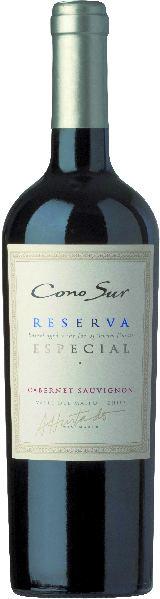 Cono SurReserva Especial Cabernet Sauvignon Cuvee aus 85% Cabernet Sauvignon, 13% Merlot, 2% A.Bouchet, 8 Monat eim Holzfass gereiftChile Ch. Sonstige Cono Sur