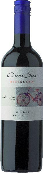 Cono SurBicicleta  Merlot  Colchagua Valley 85% Merlot, 10% Cabernet, 5% MalbecChile Ch. Sonstige Cono Sur
