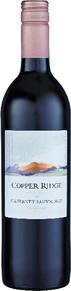 Mehr lesen zu : Copper RidgeCabernet Sauvignon  CaliforniaU.S.A. Kalifornien Copper Ridge
