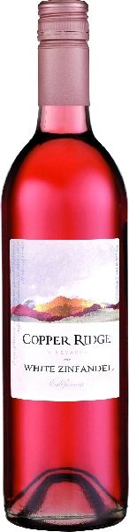 Mehr lesen zu : Copper RidgeZinfandel Rose  California White Zinfandel RoseU.S.A. Kalifornien Copper Ridge