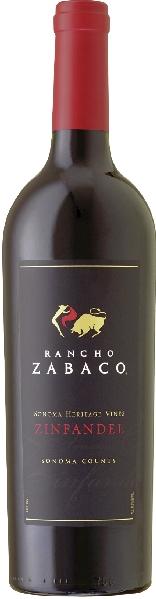 Rancho ZabacoZinfandel Heritage VinesU.S.A. Kalifornien Rancho Zabaco