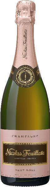 Nicolas FeuillatteRose Brut Champagne 10% Chardonnay, 60% Pinot Noir, 30% Pinot MeunierChampagne Nicolas Feuillatte