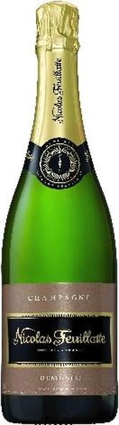 Nicolas FeuillatteSelection Demi Sec Champagne 40% Pinot Noir, 40% Pinot Meunier, 20% ChardonnayChampagne Nicolas Feuillatte
