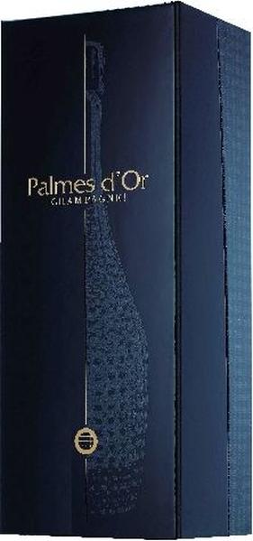 Nicolas FeuillattePalmes d Or Brut Vintage in Geschenkpackung Star Cuvee aus 50 % Chardonaay, 50 % Pinot NoirChampagne Nicolas Feuillatte