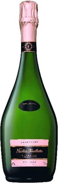 Nicolas FeuillatteCuvee 225 Rose  Brut 40% Pinot Noir, 40% Chardonnay, 20% Pinot MeunierChampagne Nicolas Feuillatte