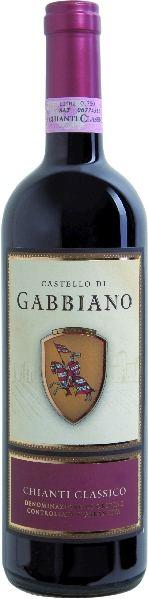 Castello di GabbianoChianti Classico DOCG Rebsorte(n):)0% Sangiovese, 10% andereItalien Toskana Castello di Gabbiano