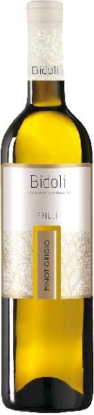 BidoliPinot Grigio DOC FriuliItalien Friaul Bidoli