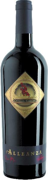 Castello di GabbianoAlleanza Rosso di Toscana IGT 75% Merlot, 20% Sangiovese, 5% Cabernet SauvignonItalien Toskana Castello di Gabbiano