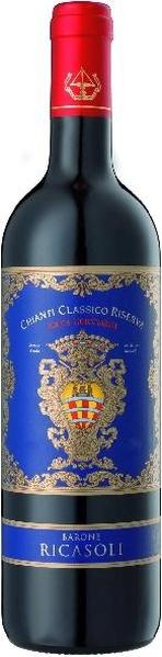 Barone Ricasoli Rocca Guicciarda Chianti Classico DOC Sangiovese 80%, Merlot und Cabernet SauvignonItalien Toskana Barone Ricasoli