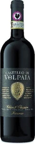 Castello di VolpaiaAus biologischem AnbauCastello Di Volpaia Chianti Classico  DOCG Riserva 100 % Sangiovese im Barrique gereiftItalien Toskana Castello di Volpaia
