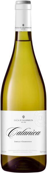 Duca di SalaparutaCalanica Insolia e Chardonnay Terre Siciliane IGT Jg. 2017 Cuvee aus Insolia und ChardonnayItalien Sizilien Duca di Salaparuta