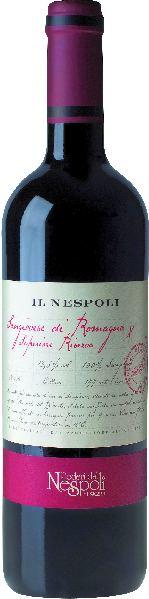 Poderi dal NespoliIl Nespoli Sangiovese di Romagna DOC RiservaItalien Emilia Romagna Poderi dal Nespoli