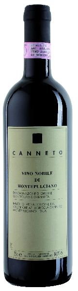 CannetoVino Nobile di Montepulciano DOCG  Jg. 2009 80% Sangiovese, 10% Merlot, 10% Cabernet SauvignonItalien Toskana Canneto