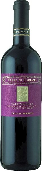 Cecilia BerettaValpolicella Classico Superiore DOC Terre di Cariano  60% Corvina, 20% Rondinella, 20% CorvinoneItalien Venetien Cecilia Beretta