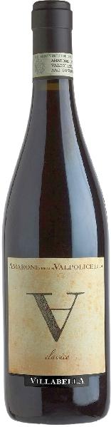 Villabella  Amarone Della Valpolicella Classico DOC Cuvee aus Corvina, Rondinella und Corvinone 36 Monate im Holzfass gereiftItalien Venetien Villabella