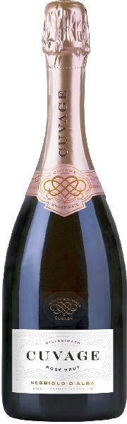 Cuvage Rose Brut Nebbiolo D Alba DOC, 18 Monate FlaschengärungItalien Piemont Cuvage