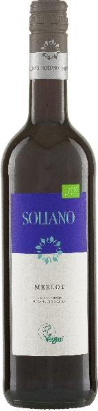 Soliano.Soliano Merlot Vino de la Tierra de CastillaSpanien La Mancha Soliano.