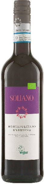 R460080418 Soliano Montepulciano d Abruzzo DOC Aus biologischem Anbau Italien Venetien Soliano B Ware Jg.