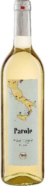 Bionisys-ITParole Pinot Grigio IGTItalien Sizilien Bionisys-IT