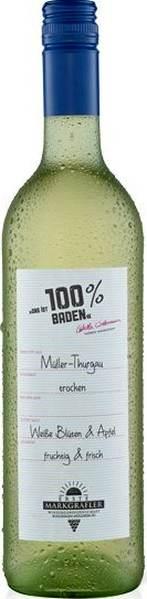 1. Markgräfische WG Schlieng100% Baden Müller-Thurgau Jg. 2016Deutschland Baden 1. Markgräfische WG Schlieng