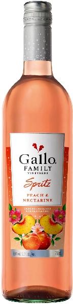 GalloSpritz Pfirsich Nektraine Jg.  WeincocktailU.S.A. Kalifornien Gallo